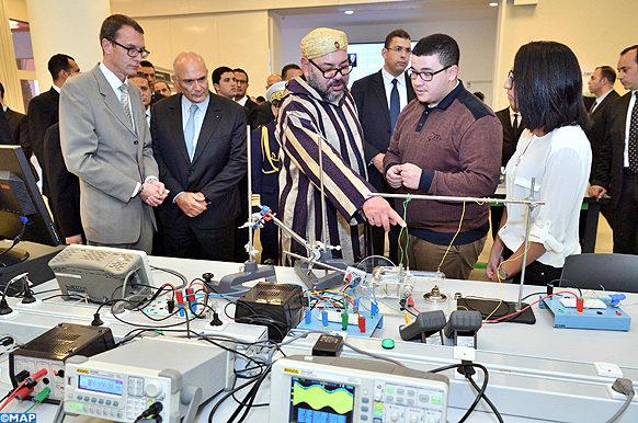 MAPECOLOGY SM le Roi inaugure l'Université Mohammed VI Polytechnique Benguerir