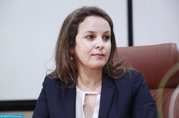 Charafat Afilal, ministre déléguée auprès du ministre de l'Energie, des mines, de l'eau et de l'environnement, chargée de l'eau