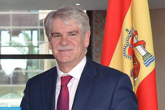 Le ministre espagnol des Affaires étrangères et de la Coopération, Alfonso Dastis