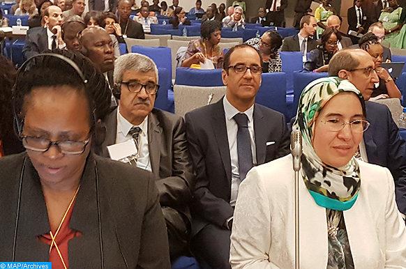 Libreville- Nezha El Ouafi -la 16é session -Conférence ministérielle africaine -l'environnement-M ecology copier