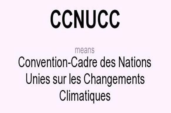 CCNUCC means - Convention-Cadre des Nations Unies sur les Changements Climatiques
