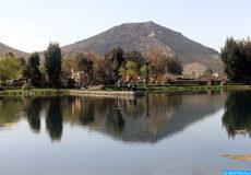 Lac Amghas, province Azrou. Lac, nature, écologie, tourisme, pêche, environnement -DS