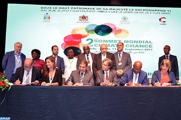 Agadir – signature - L'annonce – élus locaux - acteurs africains-M Ecology