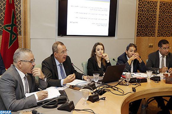 Commission infrastructures énergie mines examine approvisionnement monde rural en eau potable -M