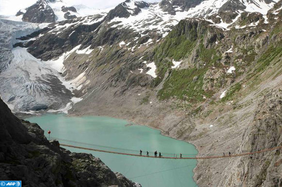 Suisse  le glacier du Trift