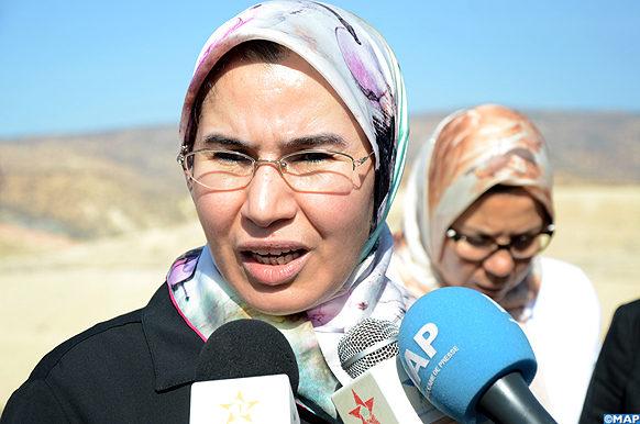 Agadir Nezha El ouafi -declaration- presse - M Ecology