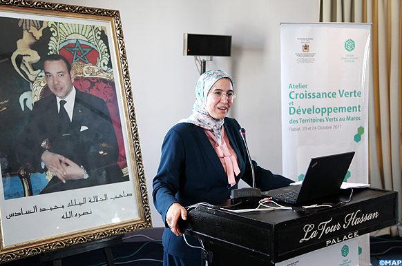 Atelier sur la croissance Verte et le Développement des Territoires Verts au Maroc  - M ECOLOGY