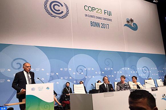 Bonn-mezouar-ouverture cop23-ecologie