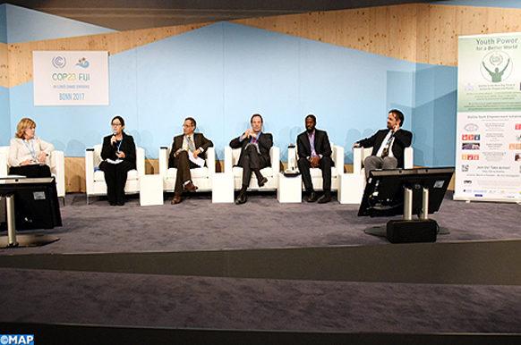 COP 23 - La Fondation Mohammed VI -Protection de l'Environnement présente ses expériences novatrices-M