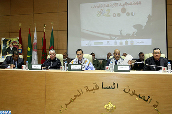 Laayoune -Sommet Magrhébin - jeunes leaders  -M