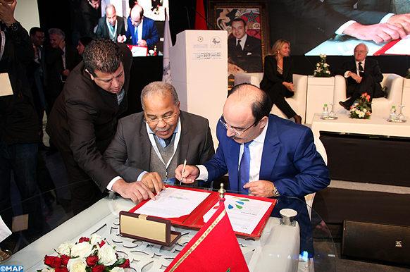 Tanger Signature de trois mémorandums d'entente  dynamisation action climatique-MAP ECO2