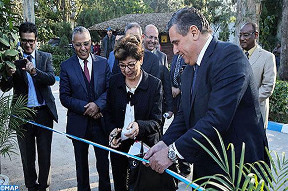 akhannouch-Inauguratin unite- coordination Régionale sur la lutte contre la désertification_M