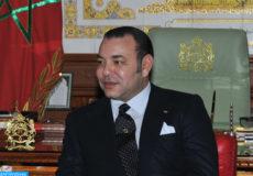 SM le Roi Mohammed VI, que Dieu l'assiste, reçoit, mercredi (18/01/12), au palais royal de Rabat, le président du gouvernement espagnol, M. Mariano Rajoy Brey, avec qui le Souverain a eu des entretiens.