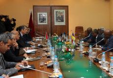 Entretien Lhafi et Ministre tchadien de l'environnement - MAP ECO