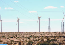 Laayoune: energie eolienne (ph Boukhari)