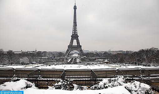 Paris-Neige- Quand la météo dame le pion à la politique - M