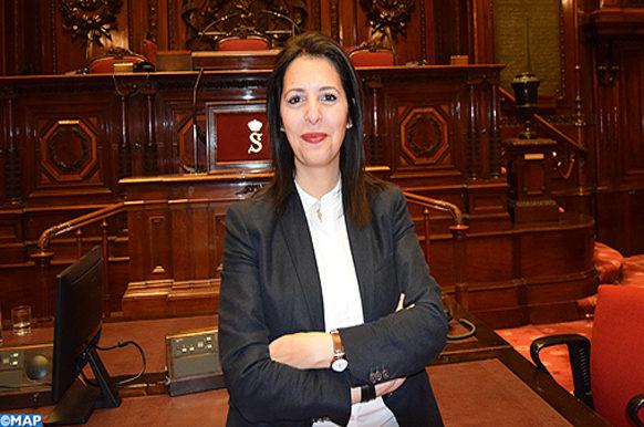 portrait de Mme Zakia coprésidente à Bruxelles - Ecology
