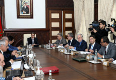 reunion-conseil de gouvernement-M