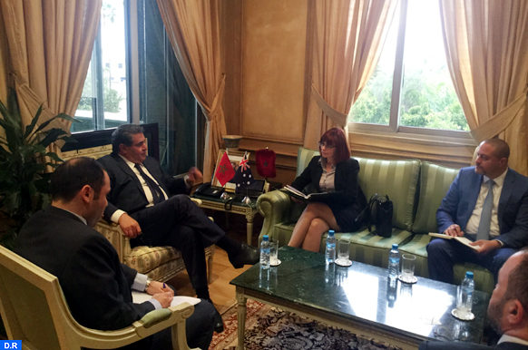 Akhannouch reçoit l'ambassadrice d'Australie au Maroc-ecologie