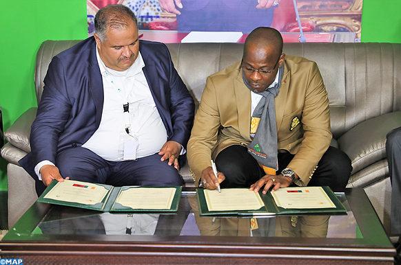 SIAM 2018 Signature d'un protocole d'Entente-chambre cote d ivoire_ecologie