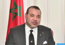 Sa Majesté le Roi Mohammed VI, que Dieu L'assiste, a eu, mardi (02/06/15) au Palais présidentiel à Abidjan, des entretiens en tête-à-tête avec le Président ivoirien, M. Alassane Ouattara.