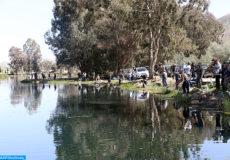 La saison de la pêche dans les eaux continentales au titre l'année 2017-2018, a été lancée dimanche (12/03/17) à Azrou, à l'initiative de  fédération marocaine de pêche de loisir.