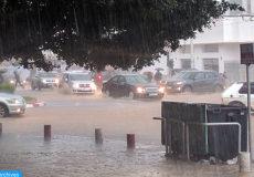 Inondations: La ville de Rabat sous les eaux suites aux fortes pluies, survenues jeudi 23 Février 2017