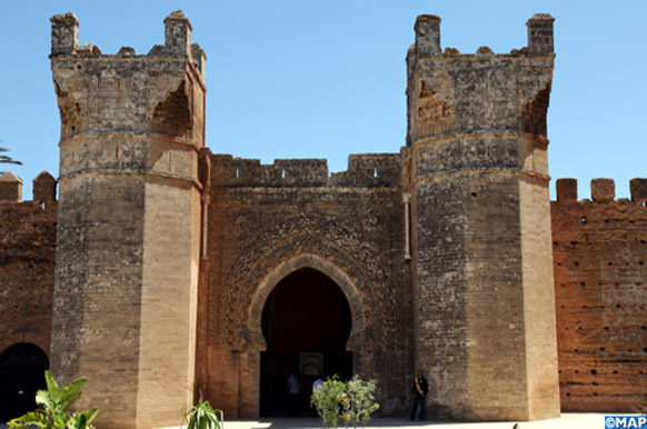 Chellah, monument historique de Rabat (MAP/Ayouchi Yassine)