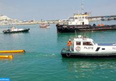 Le port de Tanger ville a accueilli Mercredi (16/06/10) l'exercice SIMULEX 2010.