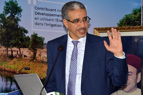 Agadir - Atelier pompage solaire - salon énergie - MAP ECO