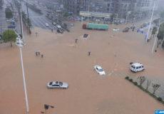 Innondations Chine