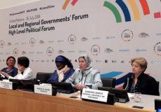 Mme El Ouafi-New York-efforts du Maroc-voie de la durabilité-ecololgie