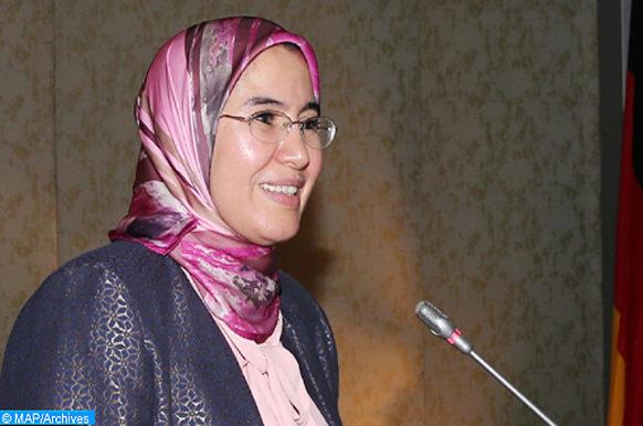 Intervention de Mme Nezha El Ouafi, Secrétaire d'Etat chargée du Développement durable, jeudi (28/09/17) à Rabat, lors de la première Journée Maroco-Allemande de l'Energie, initiée sous le thème « Réussir la transition énergétique ensemble ».