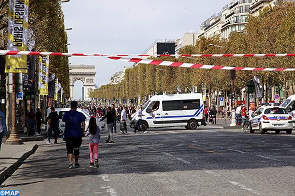 Paris Journée sans voiture-ECO