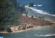 Un raz-de-marée Indonesie
