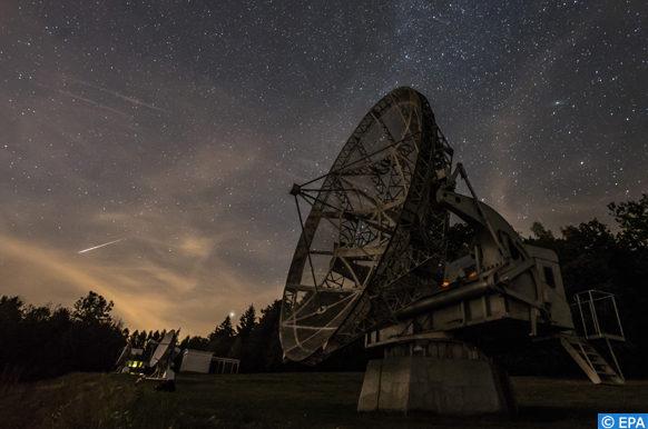 explosion astronomique