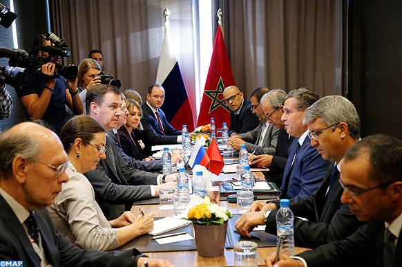 Akhannouch-entretien-homologue russe-ECOLOGIE