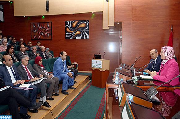 COP 24-reunion delegation marocaine- ECO