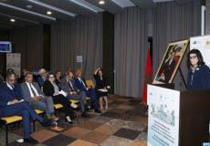 La secrétaire d'État chargée de l'Habitat, Fatna Lkhiyel , intervenant , lundi ( 23/10/18) à Rabat , lors de l'ouverture d'une table ronde régionale pour l'Afrique du Nord et la Méditerranée , axée sur les bonnes pratiques de financement de l'efficacité énergétique dans le bâtiment en Afrique du Nord et la Méditerranée