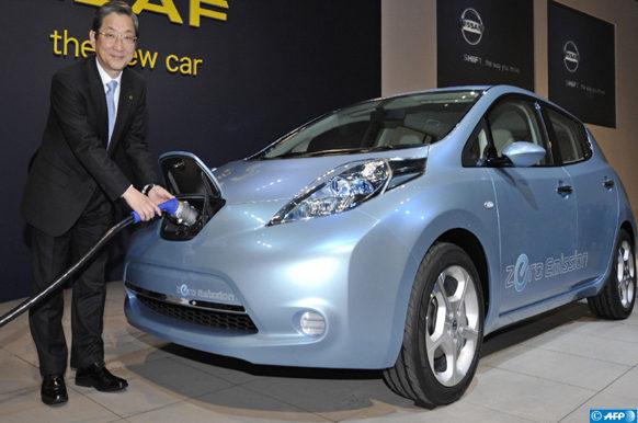 La Leaf de Nissan
