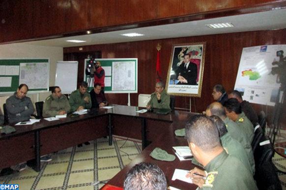 Mesures proactives du Comité régional de réveil à Ouarzazate contre des chutes de neige-ECO