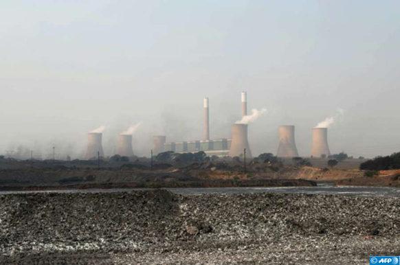 Pollution Afrique du Sud