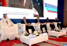 """Les travaux de la 11è Conférence arabe de l'énergie, initiée sous le thème """"l'énergie et la coopération arabe"""", ont débuté, lundi (01/10/18) à Marrakech, avec la participation de ministres et de responsables chargés de ce secteur."""