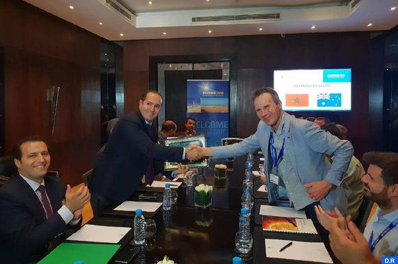 Signature d'une convention de coopération entre IRESEN et un centre de recherche australien