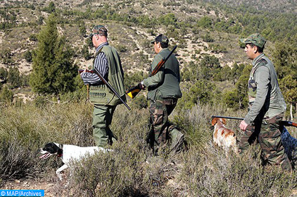 ouverture de la saison de chasse 2019-2020 à Jerada