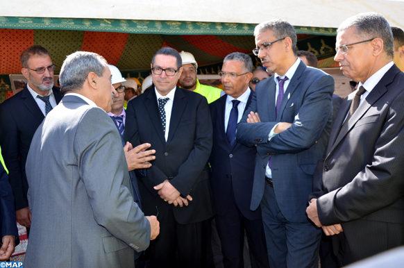 Taroudant_Al-Rabah rend visite _centrale électrique_station de pompage_ECO