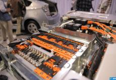 recyclage de batteries électriques pour véhicules