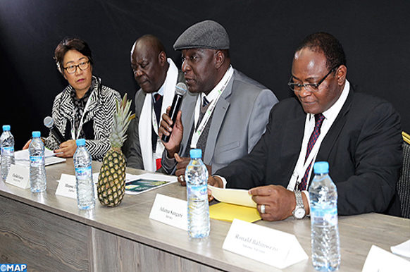 Tenue, Mardi (20/11/18) à Marrakech, de la session ouverte «Transition de l'économie informelle à l'économie sociale et solidaire pour un développement local plus durable et inclusif», dans le cadre des travaux du 8ème sommet Africités qui se tient du 20 au 24 novembre à Marrakech...