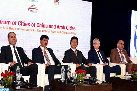 Marrakech - cloture forum villes sino-arabes - ECO