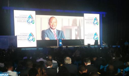 Nairob_Ouverture conférence de haut niveau sur l'économie bleue durable_M